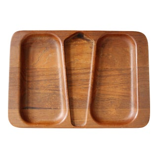 Vintage Digsmed of Denmark Teak Nut Tray