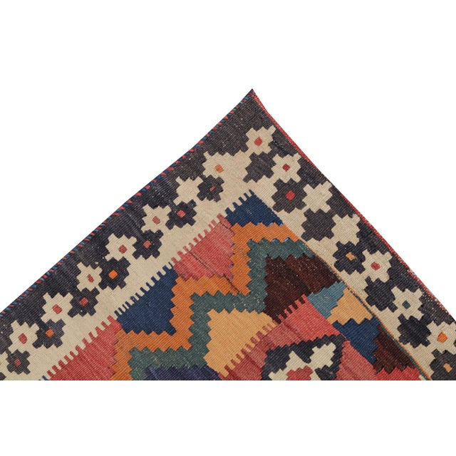 Antique Persian Gashghaie Kilim Rug- 4′10″ × 8′8″ - Image 4 of 4