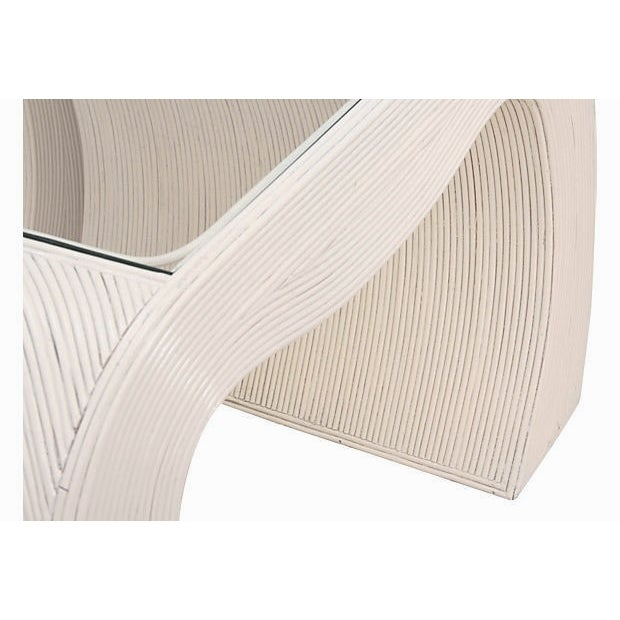 Gabriella Crespi Attributed Bamboo Tables - A Pair - Image 3 of 8