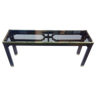 Vintage Chinoiserie Console Table