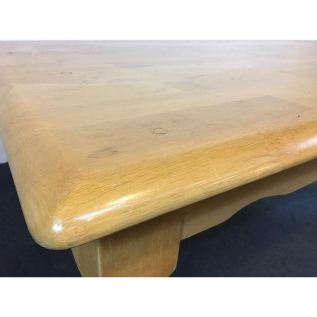Country Carved Oak Dining Set - Image 10 of 11