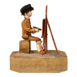 19th Century French Musical Automate Painter