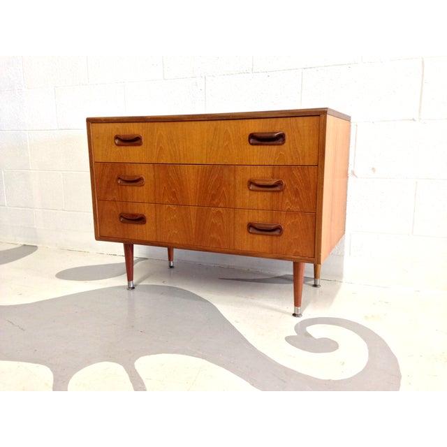 Image of Mid Century Modern Teak G-Plan Dresser