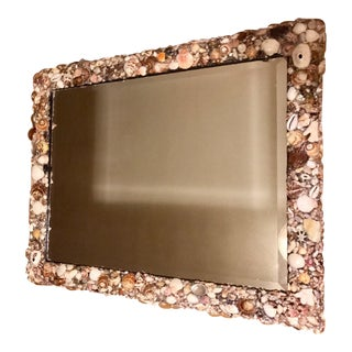 Custom Designed Shell Embellished Mirror
