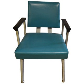 Mid-Century Modern GoodForm Turquoise Chairs