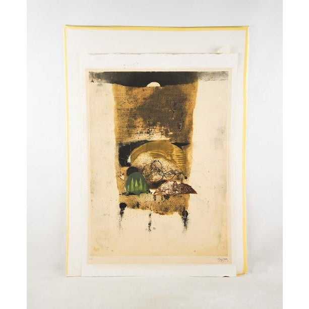 """Johnny Friedlaender """"The Hours Morning"""" Lithograph - Image 2 of 9"""