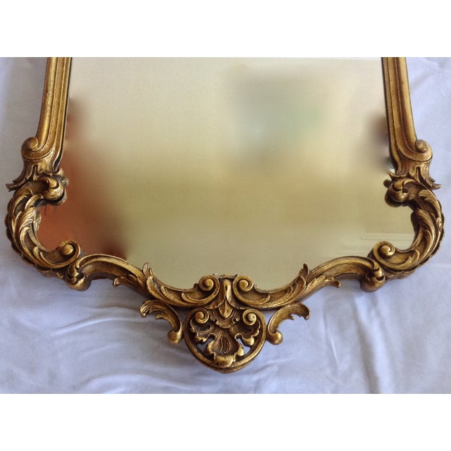 French Gilt Carved Mirror - Image 4 of 10