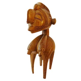 Vintage African Baga Nimba Kingwood Sculpture