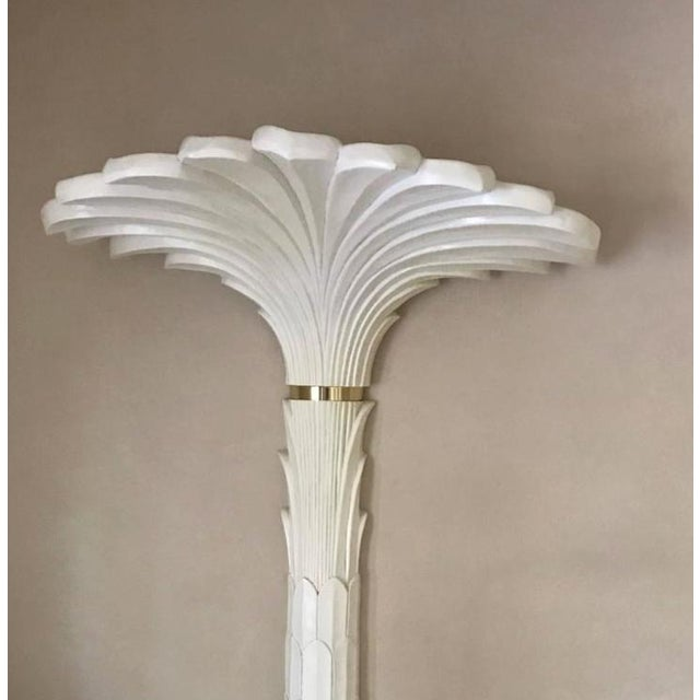 Palm Tree Wall Lights in the Style of Serge Roche - A Pair - Image 2 of 6