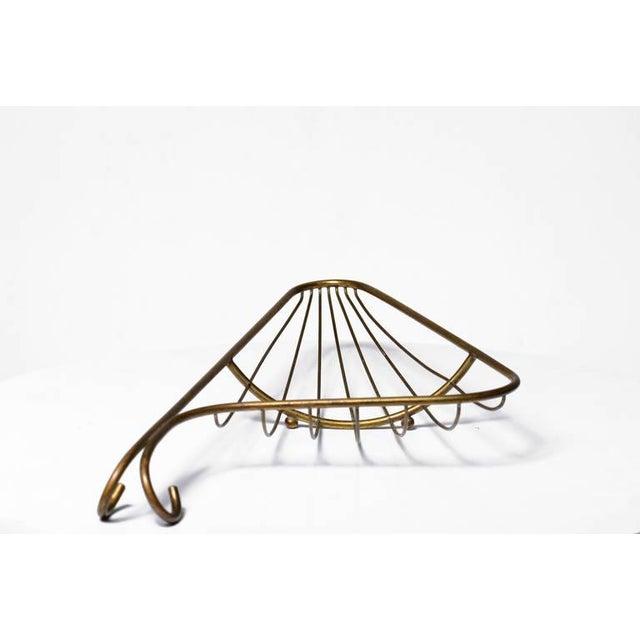 Barware Italian Brass Basket - Image 5 of 7