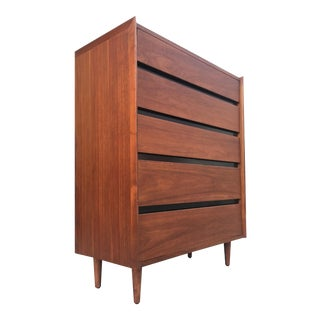 Dillingham Mid-Century Highboy Dresser