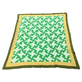 Vintage Handmade Cotton Quilt