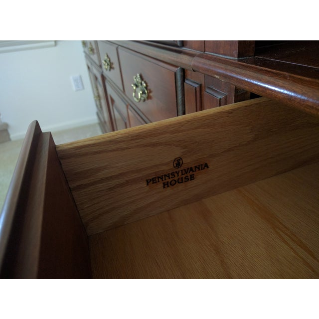Pennsylvania House Bookcase Wall Unit - 3 Pieces - Image 10 of 10