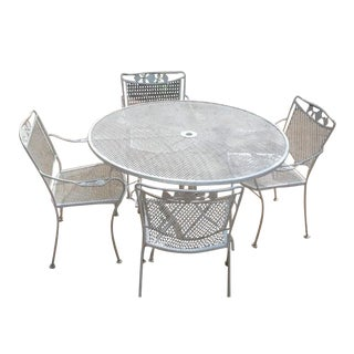 Vintage Russell Woodard Patio Dining Set