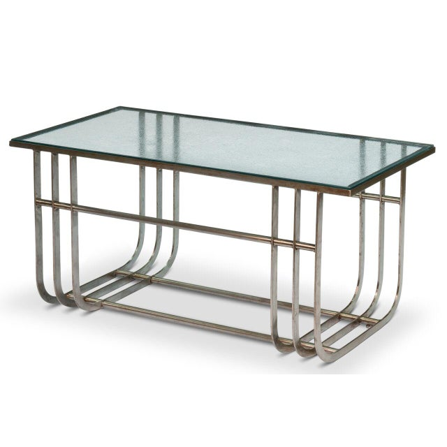 Image of Sarreid LTD Donald Deskey Style Table