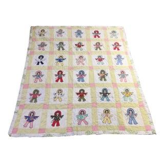 Handmade Folk Art Quilt