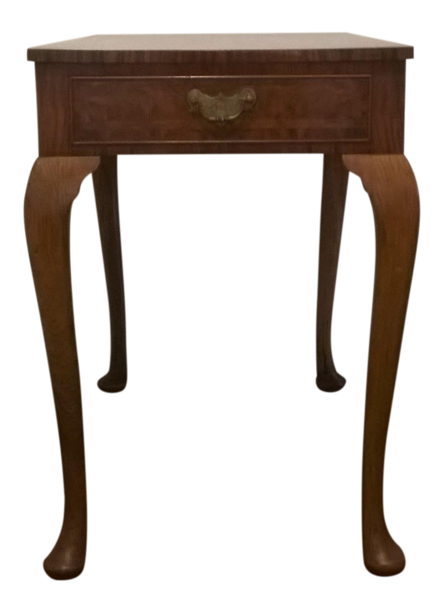 High Quality Queen Anne Revival Side Table
