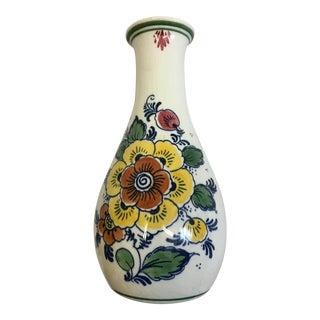 Delft Polychrome Handmade Floral Jug