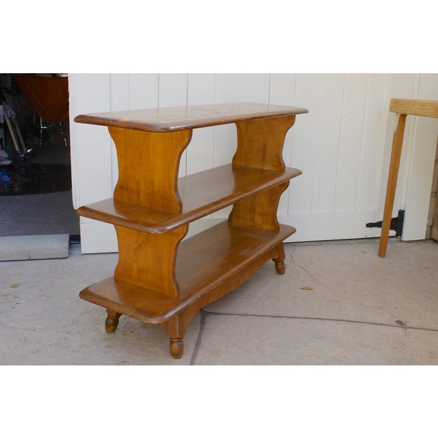 Image of Rancho Maple Three Tier Shelf