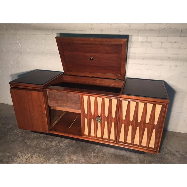 Mid-Century Modern Stereo Console/Credenza - Image 9 of 11