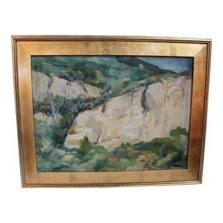 'Landscape With Rocks' Original Painting