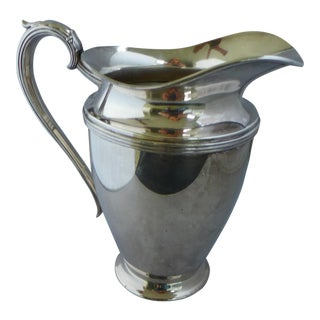 Lynton Silver-Plate Water Pitcher