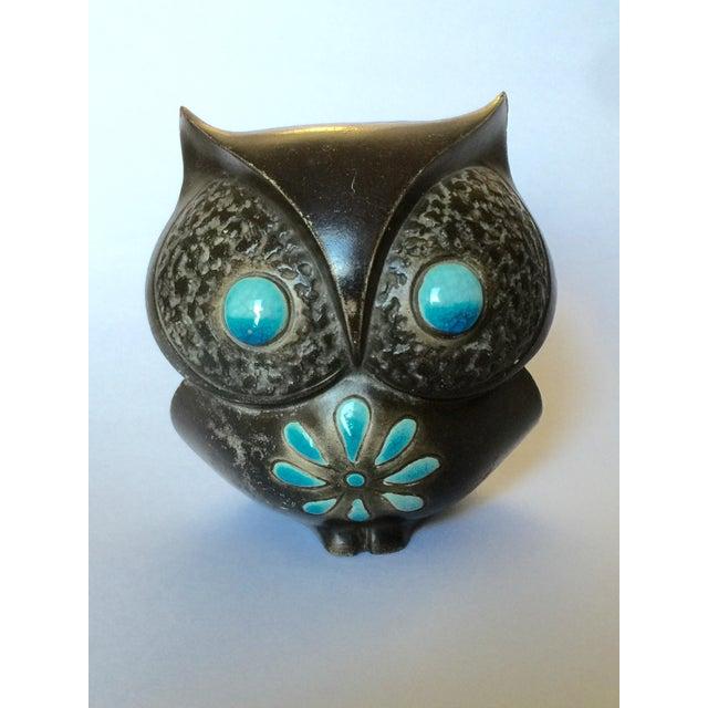 1960's Midcentury Ceramic Owl - Image 11 of 11