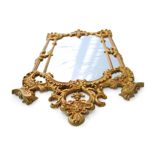 Gold Royal French Style Mirror - Image 3 of 5