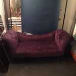Image of Purple Chaise Lounge