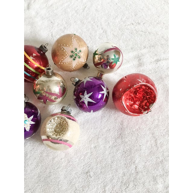 Vintage Christmas Ornament Collection  Set of 10  Chairish