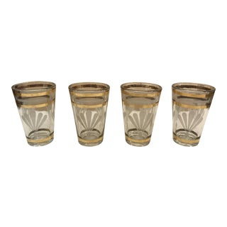 Mid-Century Modern Shot Glasses - Set of 4