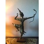 Image of Thai Gilt Bronze Angel Statue