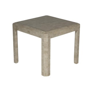 Maitland Smith Tessellated Side Table