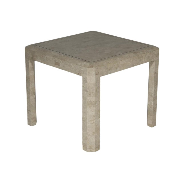 Maitland Smith Tessellated Side Table - Image 1 of 6