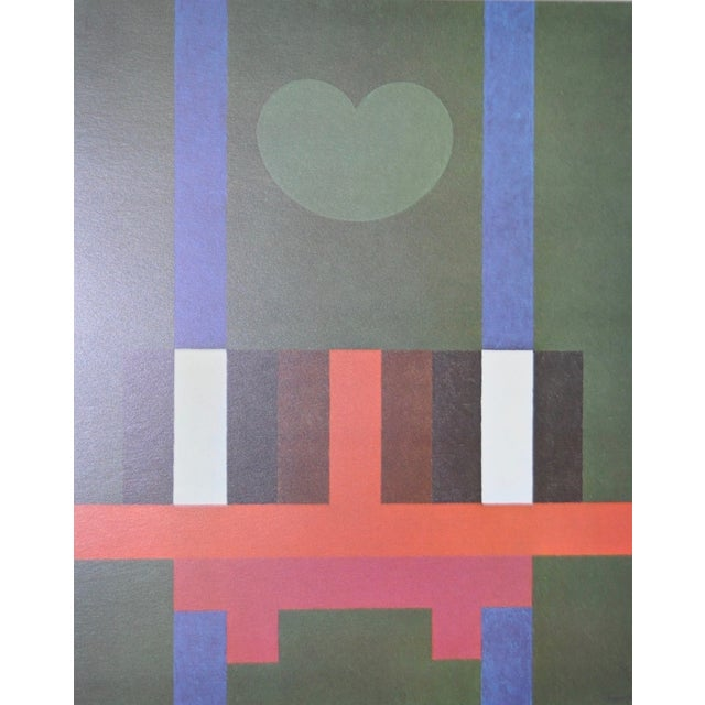Image of Herbert Bayer Mid-Century 1965 Lithograph Print
