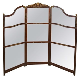3-Panel Room Divider or Screen Mirror