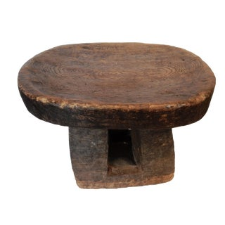 African Old Bamileke Stool Cameroon