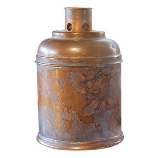 Vintage Copper Humidor