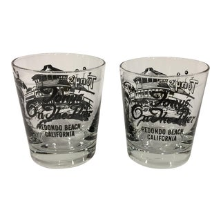 """Tony's on the Pier"" Tumblers - A Pair"