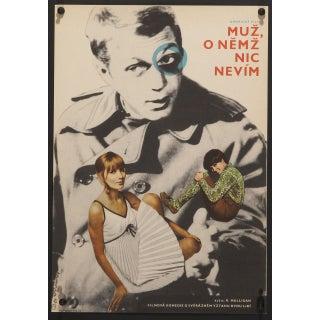 """Love With the Proper Stranger"" Czech Film Poster"