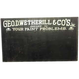 Geo. D. Wetherill & Co. Key Rack Sign