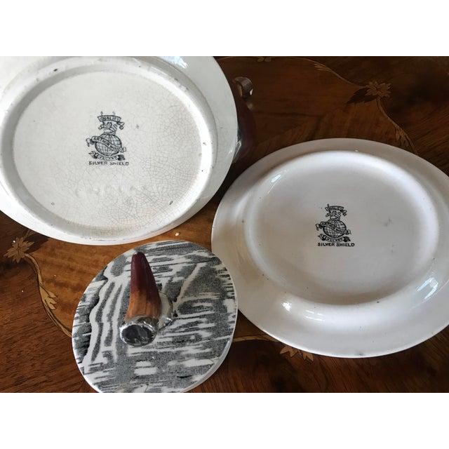 1930s Arthur Wood Silver Shield Teapot - Image 7 of 11
