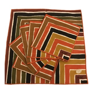 Ken Scott for Leacock Mid-Century Napkins - Set of 6