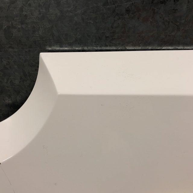 Palecek Andaz White Mirror - Image 3 of 7