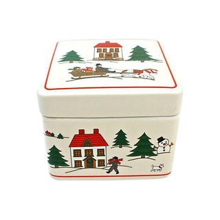 """Joy of Christmas"" Porcelain Box"