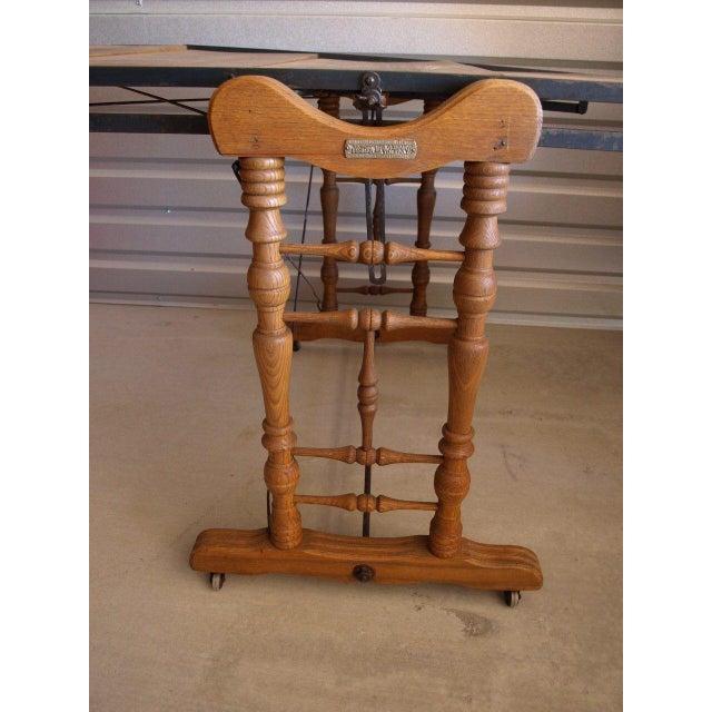 Yesbera Antique Baker Tilt Table/Shelving Unit - Image 5 of 8