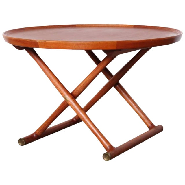 Egyptian Table by Mogens Lassen for A.J. Iversen - Image 1 of 10