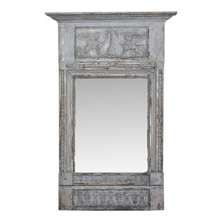 Traditional French Antique Painted Mirror