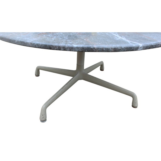 Eames Marble Coffee Table: Eames For Herman Miller Gray Marble Coffee Table