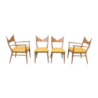 Paul McCobb Mahogany Dining Chairs - Set of 4